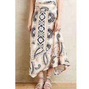 Anthropologie Maeve Buta paisley maxi skirt